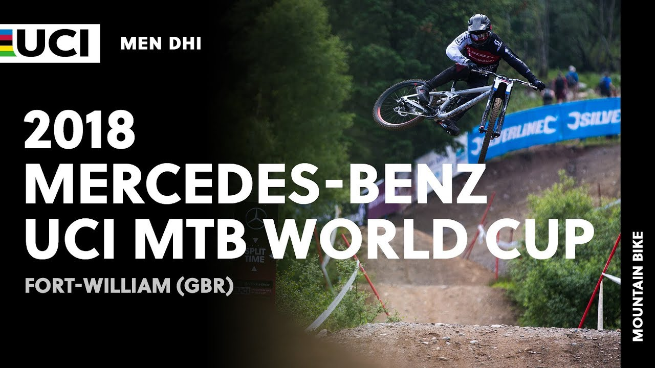 2018 Mercedes-Benz UCI Mountain Bike World Cup - Fort William (GBR) / Men DHI