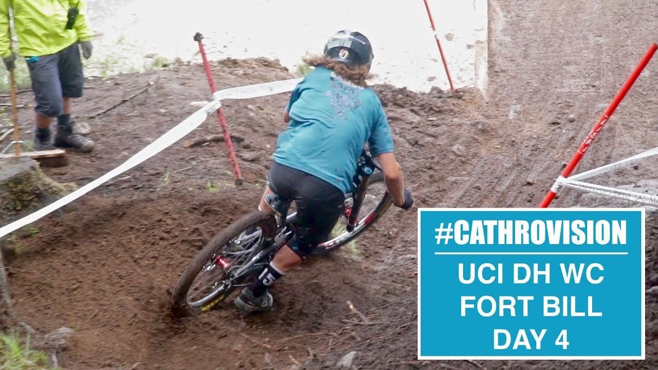 #CATHROVISION // 2018 Fort William World Cup Day 4 - Slippy Woods