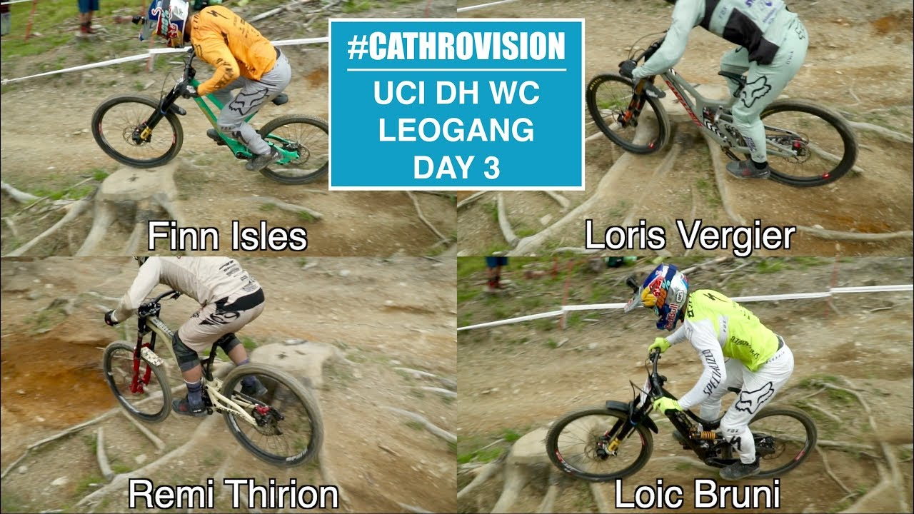 #CATHROVISION // 2018 Leogang World Cup Day 3ish - MOST IMPORTANT CORNER