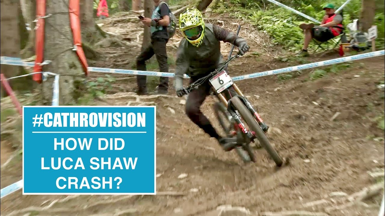 #CATHROVISION // 2018 Leogang World Cup Day 4 - HOW DID LUCA CRASH?