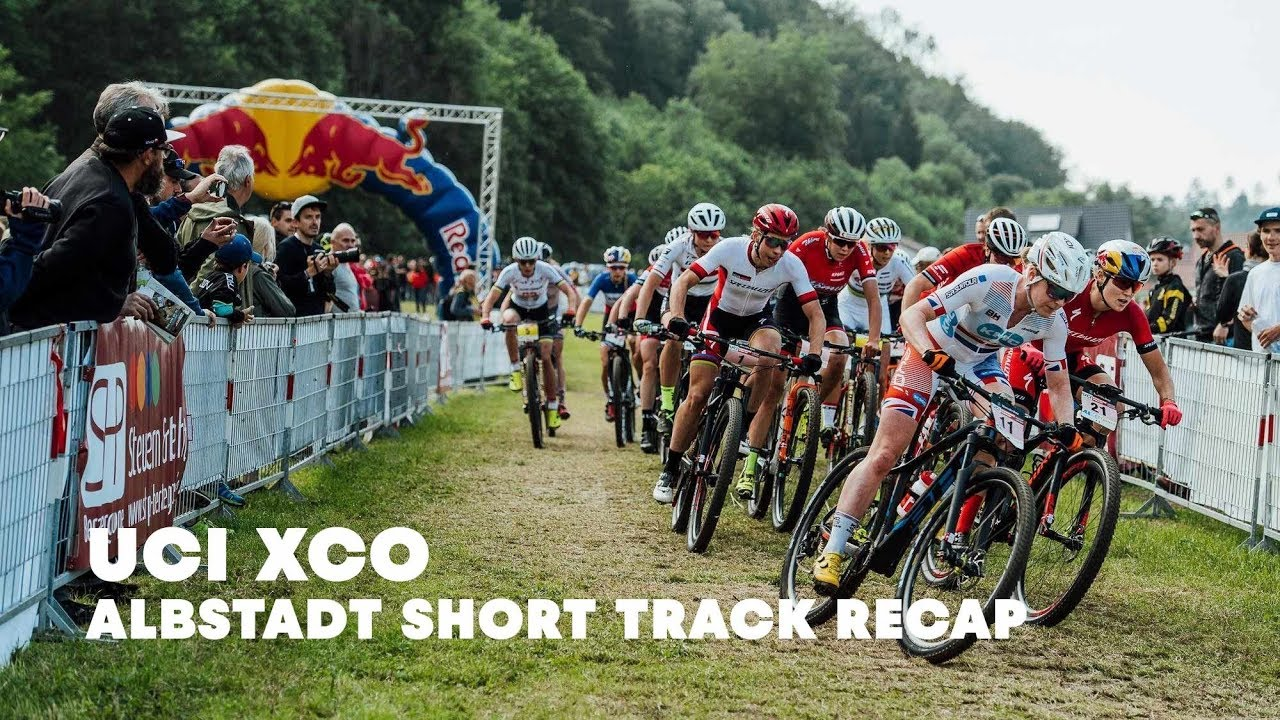 UCI MTB 2018: Short track kick-off at the women's XCC race in Albstadt.