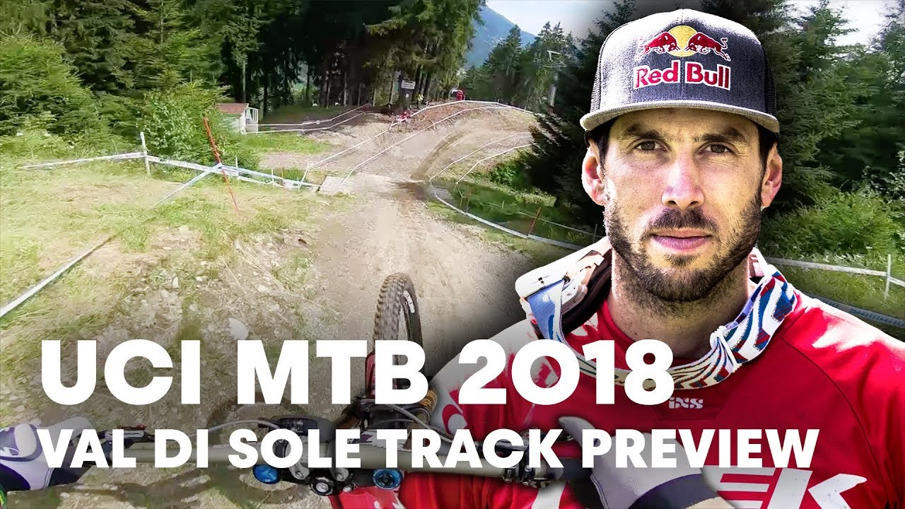 Gee Atherton takes you down the MTB Downhill track at Val di Sole. | UCI MTB 2018