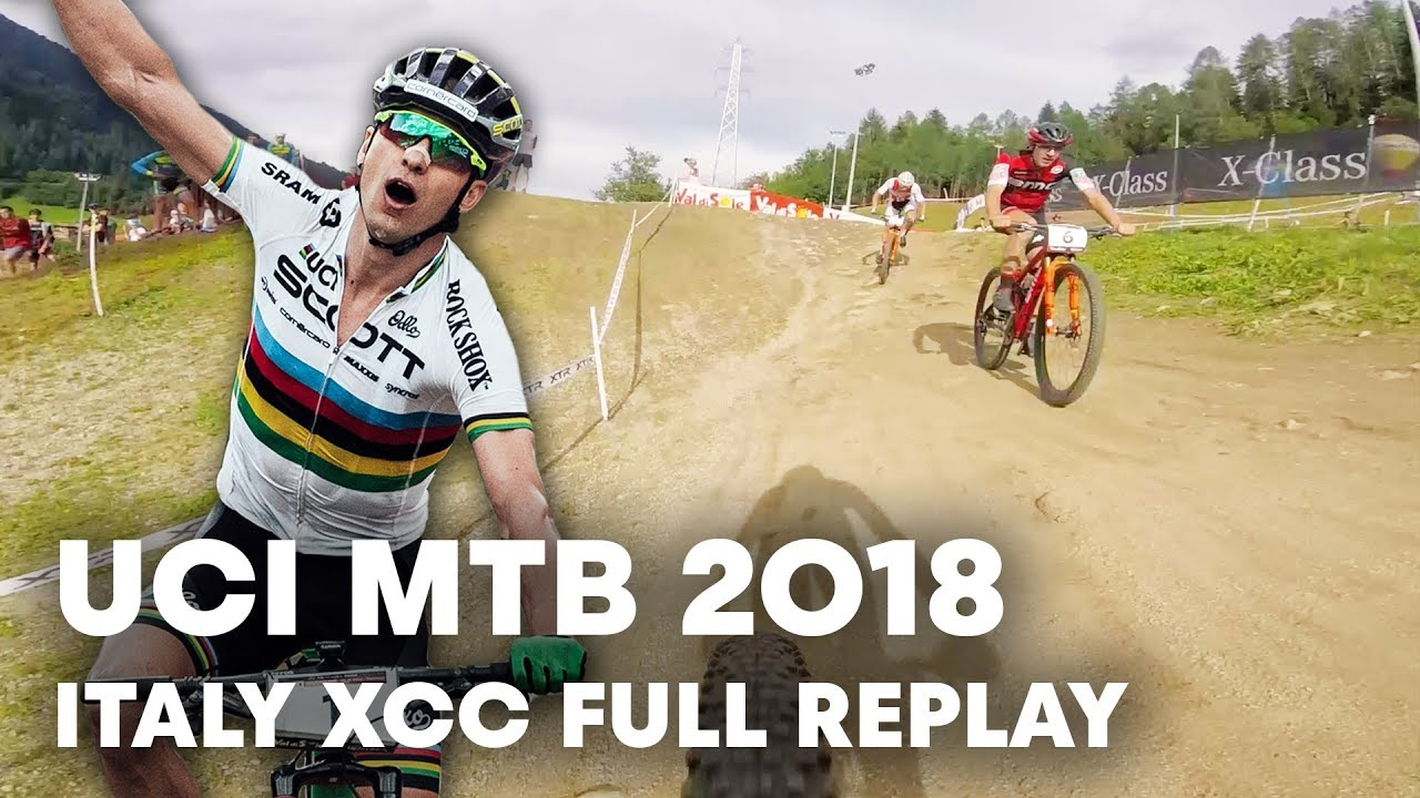 XC Short Track Full Race Replay from Nino's wheel point of view. | UCI MTB 2018
