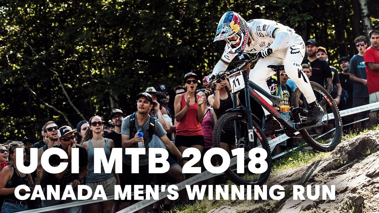 Who Won The Men's Downhill MTB Final at Mont-Sainte-Anne, Canada? | UCI MTB 2018