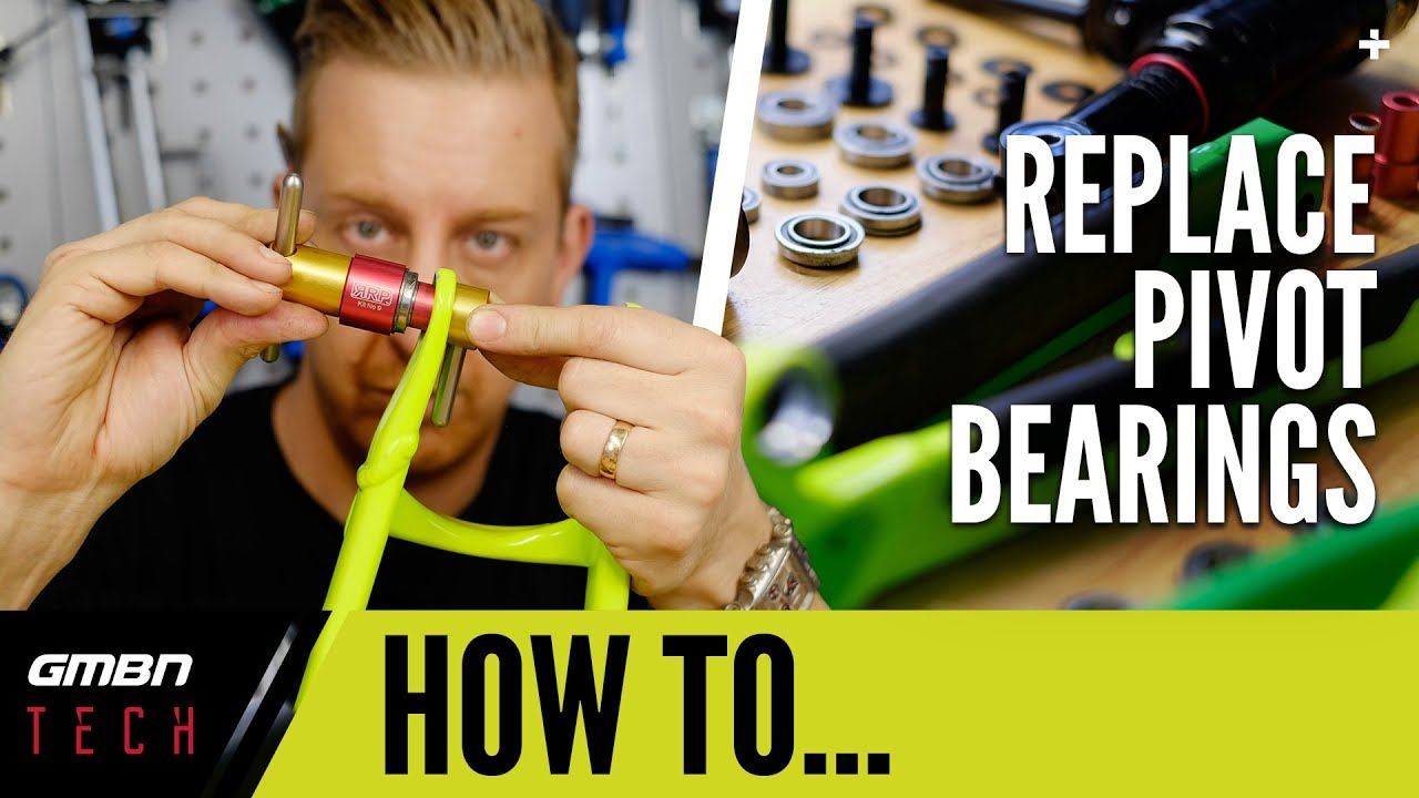 How To Replace Frame Bearings Using A Bearing Press   MTB Maintenance