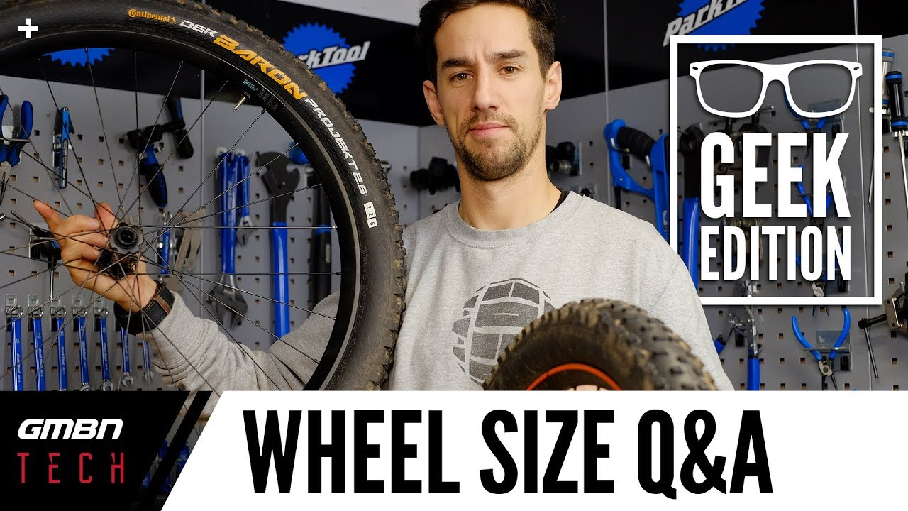 """27.5"""" Vs 29"""" Wheel Size Debate Nerd Edition   Your Questions Answered"""