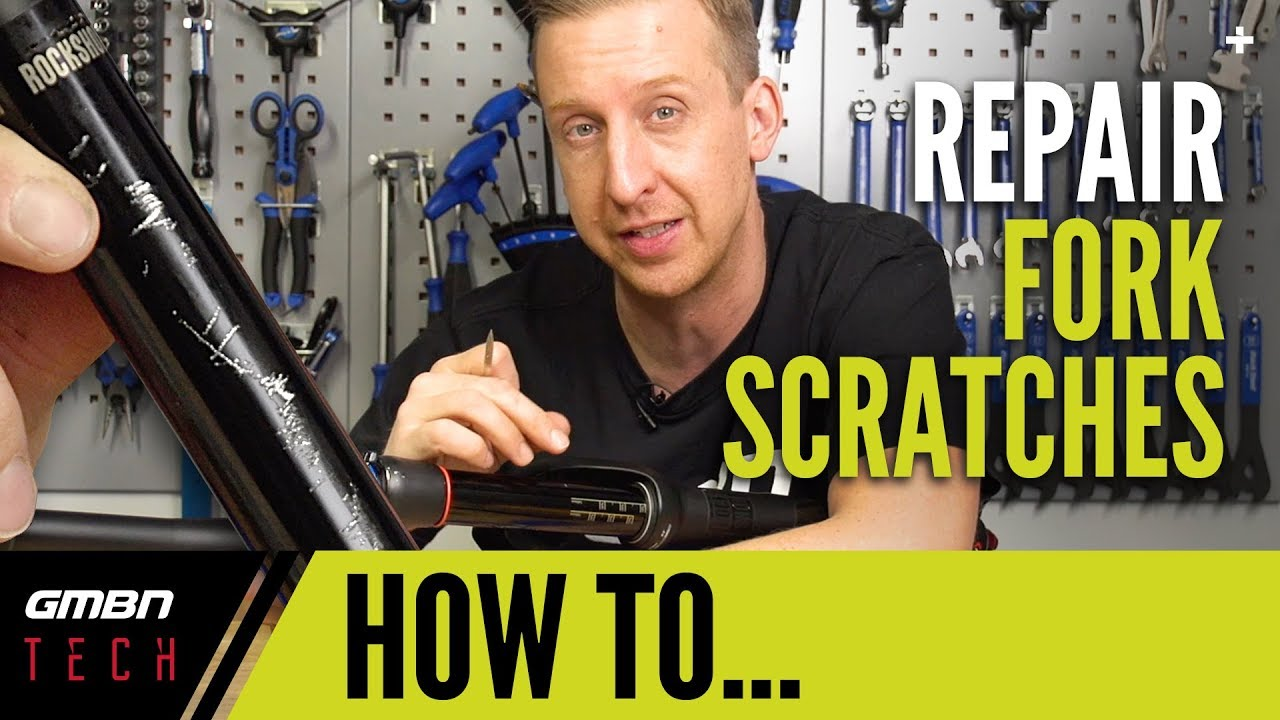 Stanchion + Dropper Post Scratch Repair   GMBN Tech How To