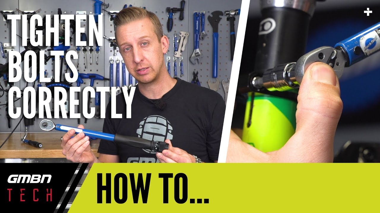 Tighten Bolts Correctly On Your Mountain Bike   GMBN Tech How To