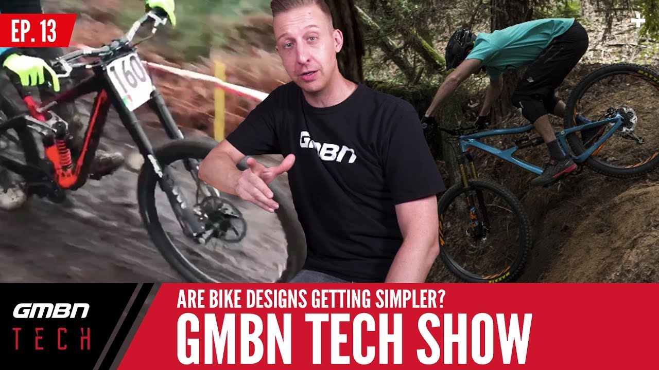Are MTB Frames Getting Simpler?   The GMBN Tech Show Ep. 13