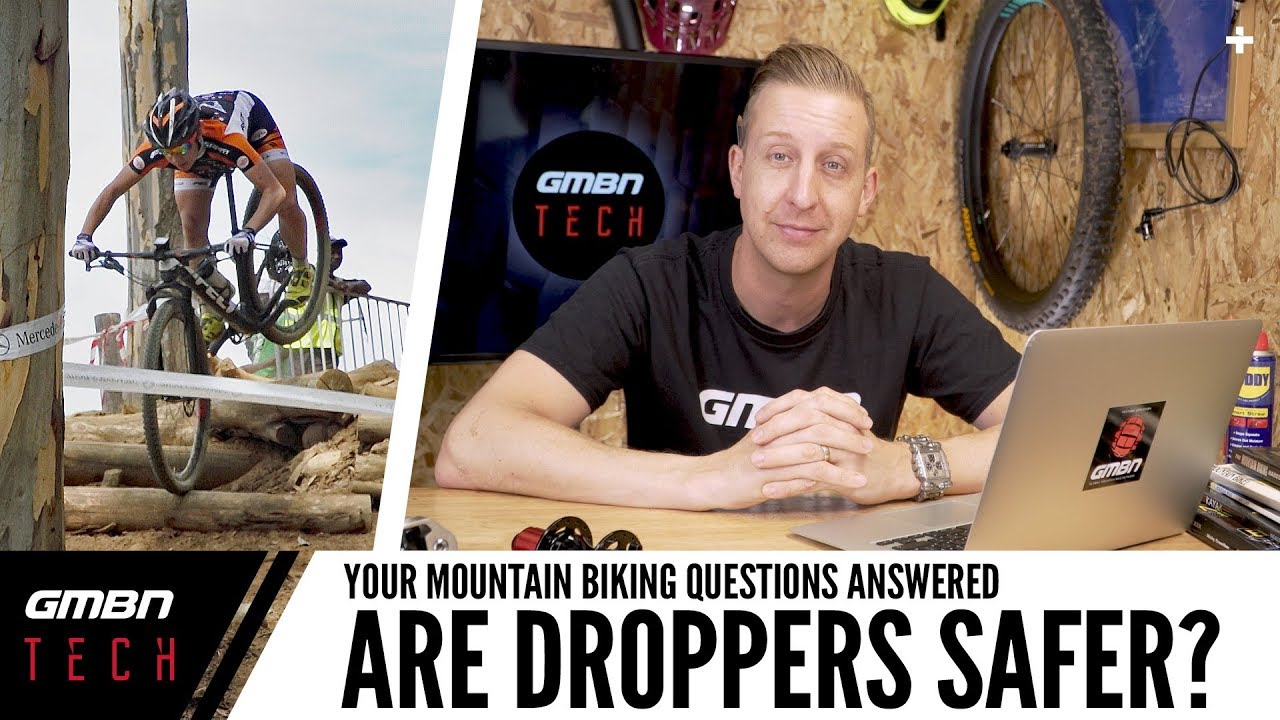 Is Mountain Biking With A Dropper Post Safer?   Ask GMBN Tech