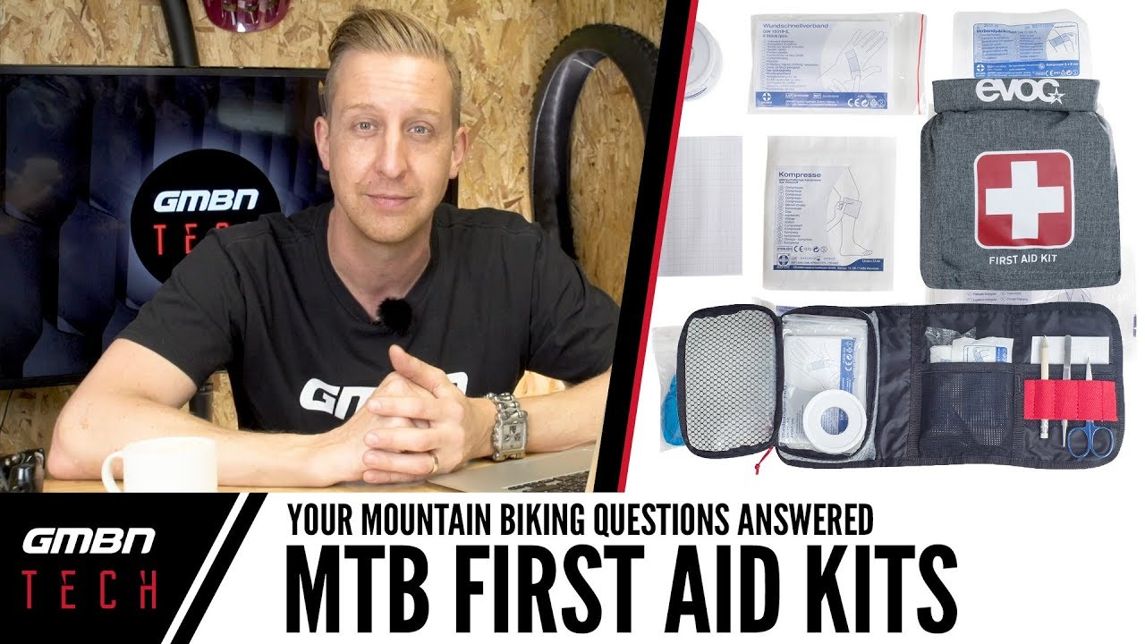 Do You Carry A First Aid Kit While Riding?   Ask GMBN Tech