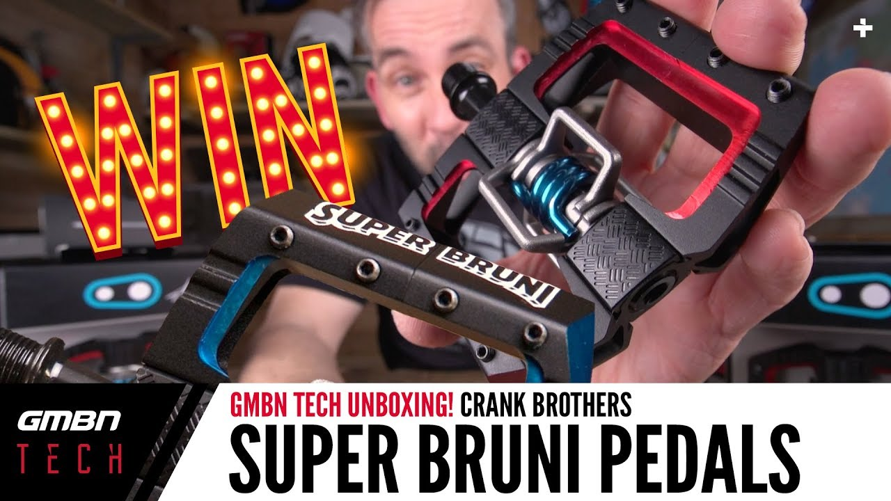 crankbrothers Super Bruni Mallet DH Pedal   GMBN Unboxing