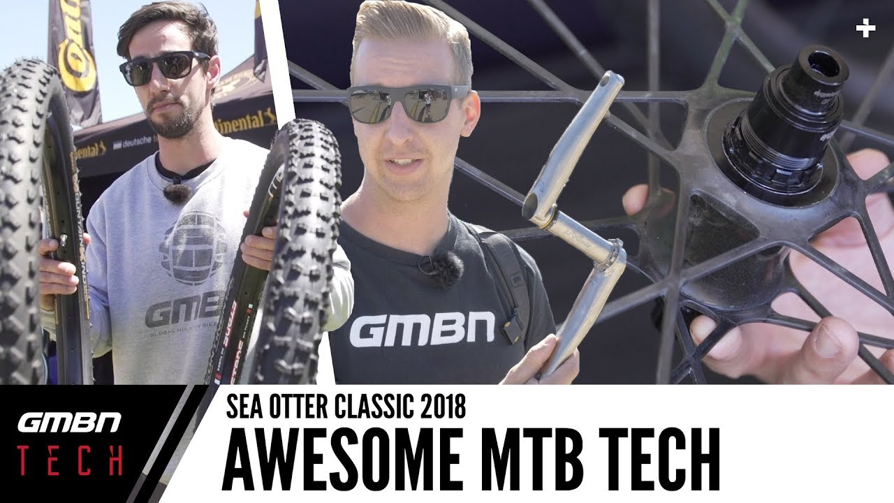 Coolest New Mountain Bike Tech Products   GMBN Tech At Sea Otter 2018