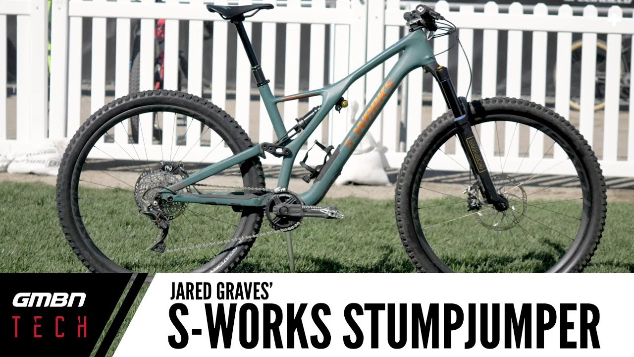 Jared Graves' Specialized S-Works Stumpjumper ST 29   GMBN Tech Pro Bike Check