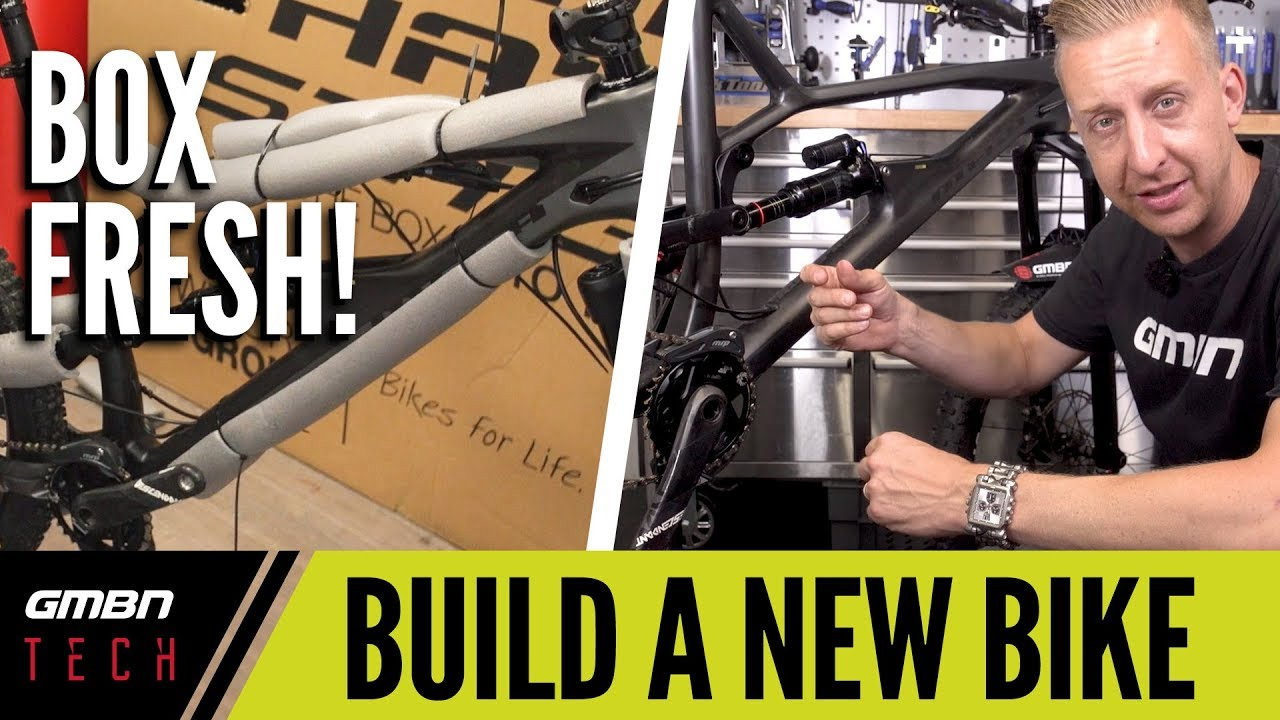 Set Up A New Bike From The Box   GMBN Tech How To