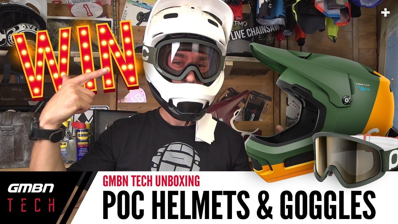 POC Coron Air Spin Helmets + Ora Clarity Goggles   GMBN Unboxing
