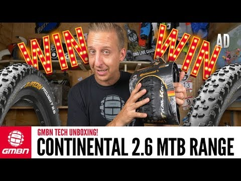Continental's New B+ Premium Range Of Mountain Bike Tyres   GMBN Tech Unboxing