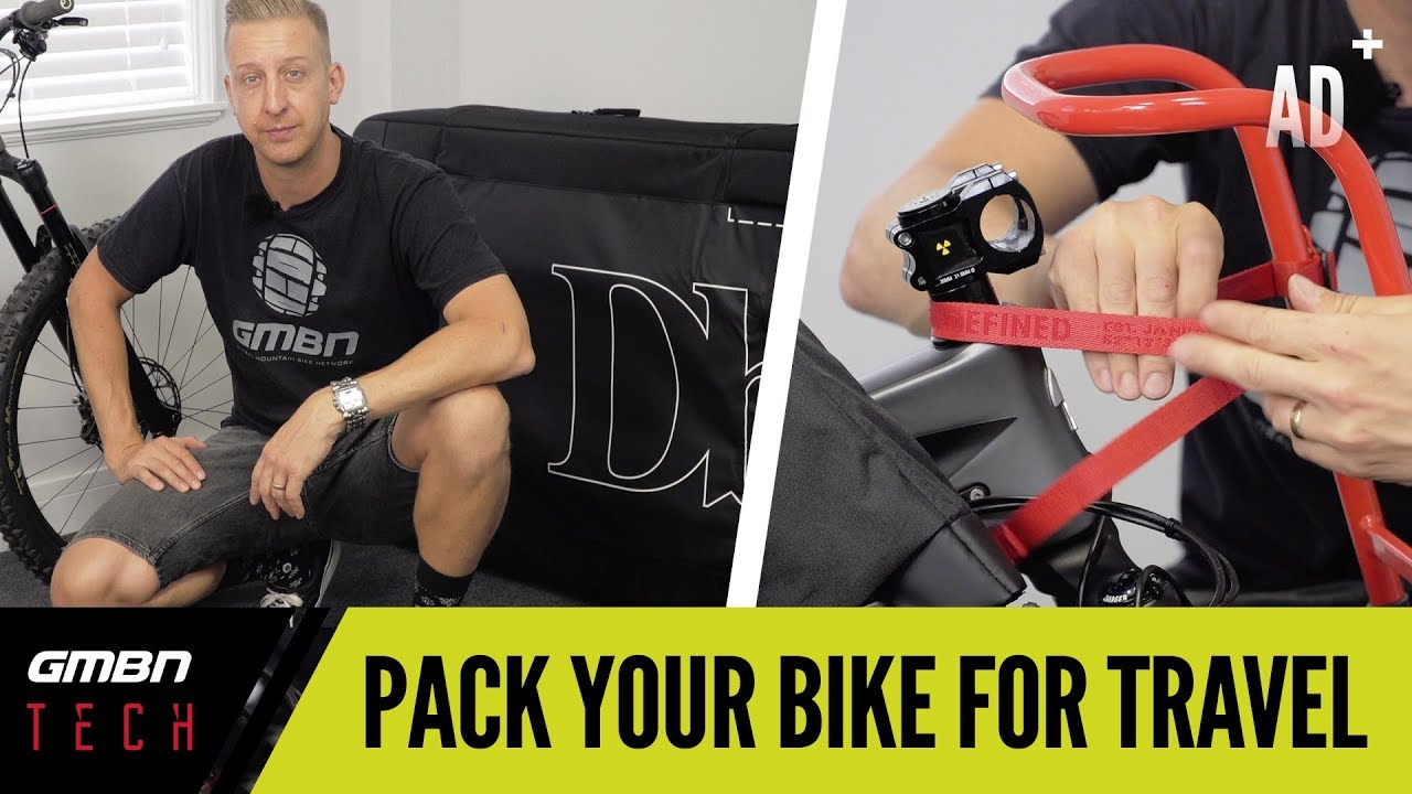How To Pack A Mountain Bike For Travel   GMBN Packs The Douchebags Savage