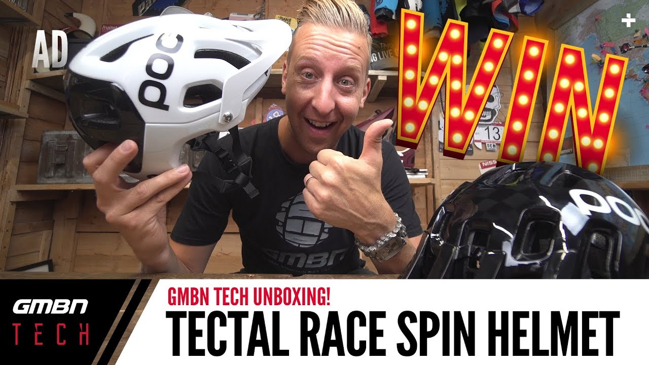 Unboxing The POC Tectal Race Spin   GMBN Tech Unboxing