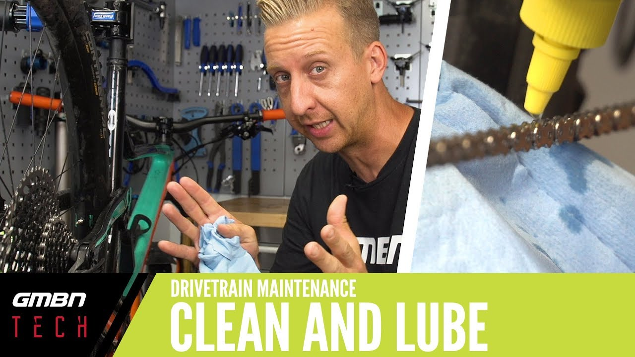 How To Clean And Lube Your Drivetrain   GMBN Tech How To