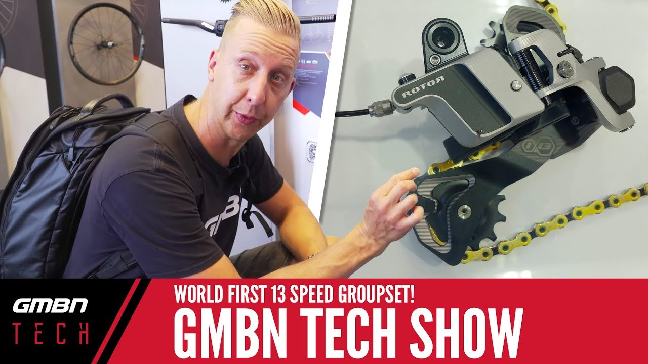 World First 13 Speed Groupset + Eurobike Special   GMBN Tech Show Ep.27