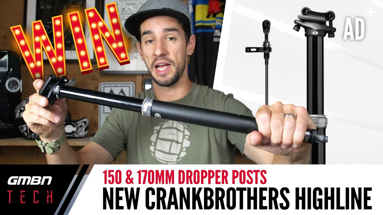 Crankbrothers Highline Dropper Post   GMBN Unboxing