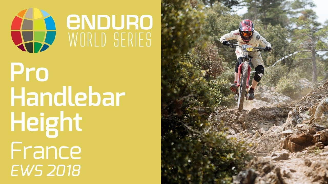 How High Do Pro Enduro Racers Have Their Handlebars?